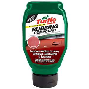 Turtle Wax Premium Rubbing Compound Review